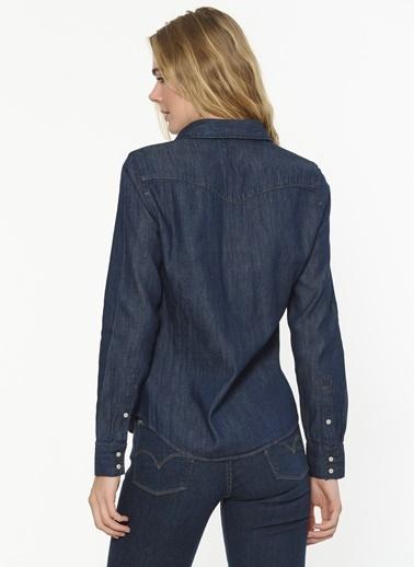 Levi's® Jean Gömlek Lacivert
